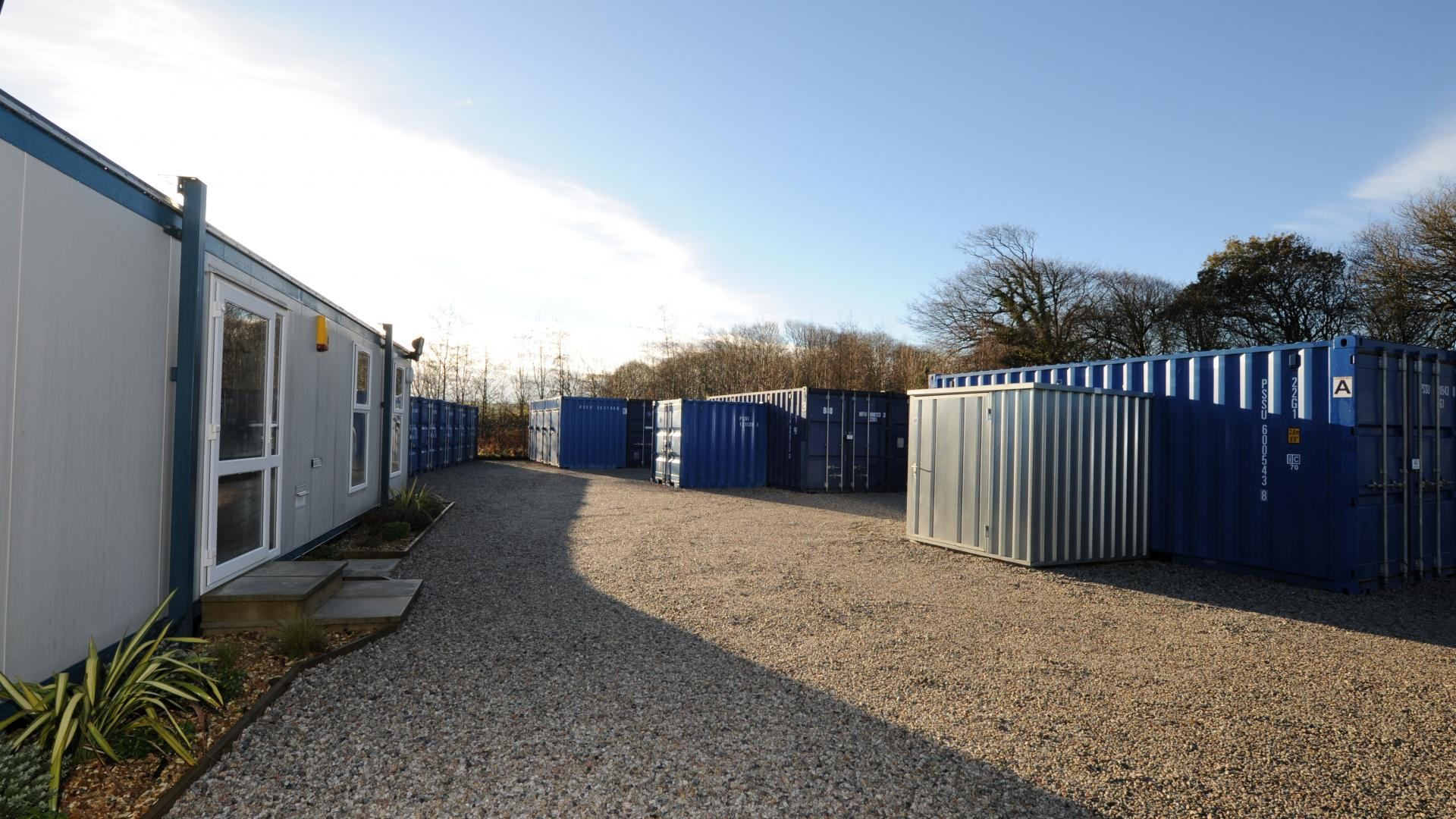 Storage units for hire