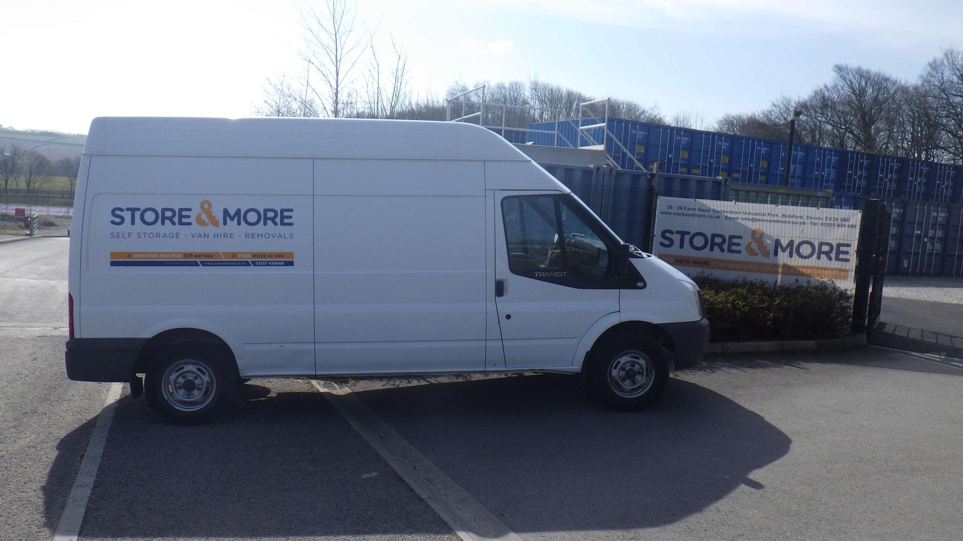 A Store & More van for hire